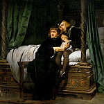Paul Delaroche -- The Children of Edward IV in the Tower, Part 1 Louvre