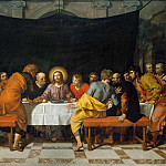 Frans Pourbus the Younger -- The Last Supper, Part 1 Louvre