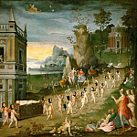 Part 1 Louvre - Antoine Caron (1521-1599) -- Allegory: The Funeral of Amor