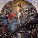 Part 1 Louvre - Annibale Carracci (1560-1609) -- Resurrection of Christ