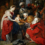 Peter Paul Rubens -- Adoration of the Magi, Part 1 Louvre