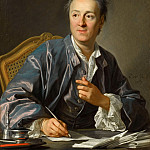 Louis Michel van Loo -- Denis Diderot, Part 1 Louvre