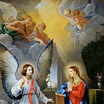 Guido Reni -- Annunciation, Part 1 Louvre