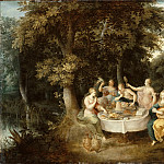 Part 1 Louvre - Frans Francken II -- Five Senses