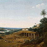 Frans Post -- A sugar mill turning on a small river, Part 1 Louvre