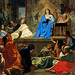 Charles Le Brun -- Descent of the Holy Ghost, Part 1 Louvre