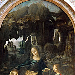 Part 1 Louvre - Leonardo da Vinci -- Madonna of the Rocks (Virgin of the Rocks)