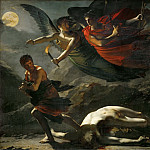 Part 1 Louvre - Pierre-Paul Prud'hon (1758-1823) -- Justice and Divine Vengeance Pursuing Crime