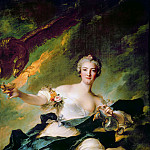 Jean-Marc Nattier -- The Duchess of Chaulnes as Hebe, Part 1 Louvre