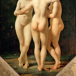 Part 1 Louvre - Jean-Baptiste Regnault (1754-1829) -- The Three Graces