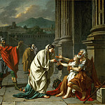 Part 1 Louvre - 40-11-04/51 CLASSICISM PAINTING 18TH -- David, Jacques Louis