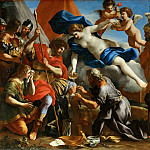 Venus Pouring a Balm on the Wound of Aeneas, Giovanni Francesco Romanelli