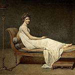 Part 1 Louvre - David, Jacques Louis<br /> -- Mme Recamier nee Julie Bernard (1777-1849).