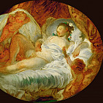 Part 1 Louvre - FRAGONARD, Jean-Honor? -- (b. 1732, Grasse, d. 1806, Paris)