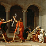 Jacques-Louis David -- The Oath of the Horatii, Part 1 Louvre