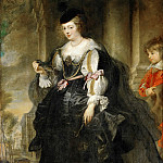 Peter Paul Rubens -- Hélène Fourment with Carriage, Part 1 Louvre