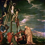 Part 1 Louvre - Paolo Veronese -- The Crucifixion