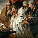 Jacob Jordaens the Elder -- The Four Evangelists, Part 1 Louvre