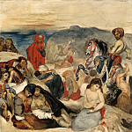 Part 1 Louvre - Eugène Delacroix -- The Massacre at Chios