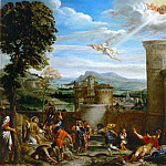 Annibale Carracci -- Stoning of Saint Stephen, Part 1 Louvre