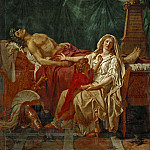 David, Jacques Louis -- La douleur d'Andromache-The sorrow of Andromache. Painted 1783, Part 1 Louvre