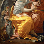 Part 1 Louvre - Simon Vouet -- Allegory of Wealth