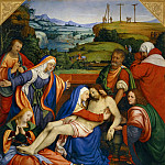 Part 1 Louvre - Andrea Solario -- Lamentation over the Dead Christ