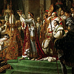 David, Jacques Louis -- The Coronation of the Napoleon and Joséphine in Notre-Dame Cathedral on December 2, 1804, Part 1 Louvre