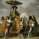 Part 1 Louvre - Charles Le Brun -- Chancellor Pierre Seguier on Horseback