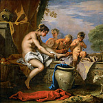 Sebastiano Ricci -- Nymph and Satyrs, Part 1 Louvre