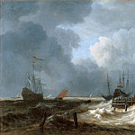 Jacob van Ruisdael -- The Storm, Part 1 Louvre