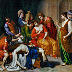 Part 1 Louvre - Alessandro Turchi -- Death of Cleopatra