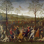 Part 1 Louvre - Perugino -- Combat between Love and Chastity