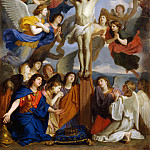 Part 1 Louvre - Charles Le Brun -- Crucifixion with Angels