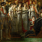 Part 1 Louvre - David, Jacques Louis -- The Coronation of the Napoleon and Joséphine in Notre-Dame Cathedral on December 2, 1804