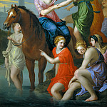 Part 1 Louvre - Jacques Stella -- Clelia crossing the Tiber