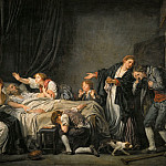 Part 1 Louvre - Jean-Baptiste Greuze (1725-1805) -- The Punished Son