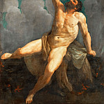 Part 1 Louvre - Guido Reni (1575-1642) -- Hercules on His Pyre