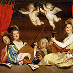 Gerrit van Honthorst -- The Concert, Part 1 Louvre