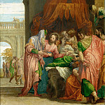 Paolo Veronese -- Resurrection of the Daughter of Jairus, Part 1 Louvre