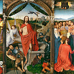 Hans Memling -- Triptych of the Resurrection, Part 1 Louvre