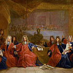 Nicolas de Largillière -- The Provost of Merchants and the Aldermen of Paris, Part 1 Louvre