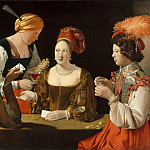 Georges de La Tour -- The Cheat with the Ace of Diamonds, Part 1 Louvre