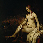 Rembrandt van Rijn -- Bathsheba at her Bath, Part 1 Louvre