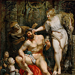 Part 1 Louvre - Peter Paul Rubens -- Hercules and Omphale