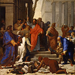 Eustache Le Sueur -- The prophesy of St. Paul at Ephesus, Part 1 Louvre