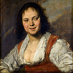 Part 1 Louvre - Frans Hals -- The Gypsy Girl (La Bohémienne)