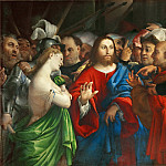 Lorenzo Lotto -- The Adultress, Part 1 Louvre