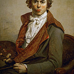 Part 1 Louvre - David, Jacques Louis -- Jaques Louis David, self-portrait. Oil on canvas (1794) 81 x 64 cm