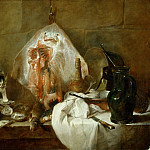 CHARDIN, Jean-Baptiste-Sim?on -- , Part 1 Louvre